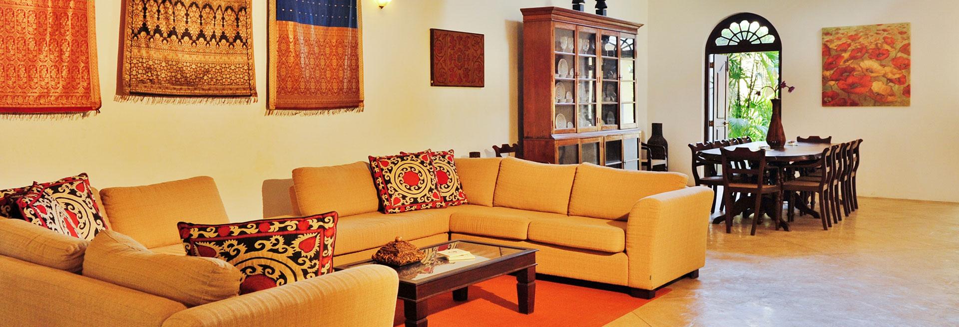 large indoor sitting area