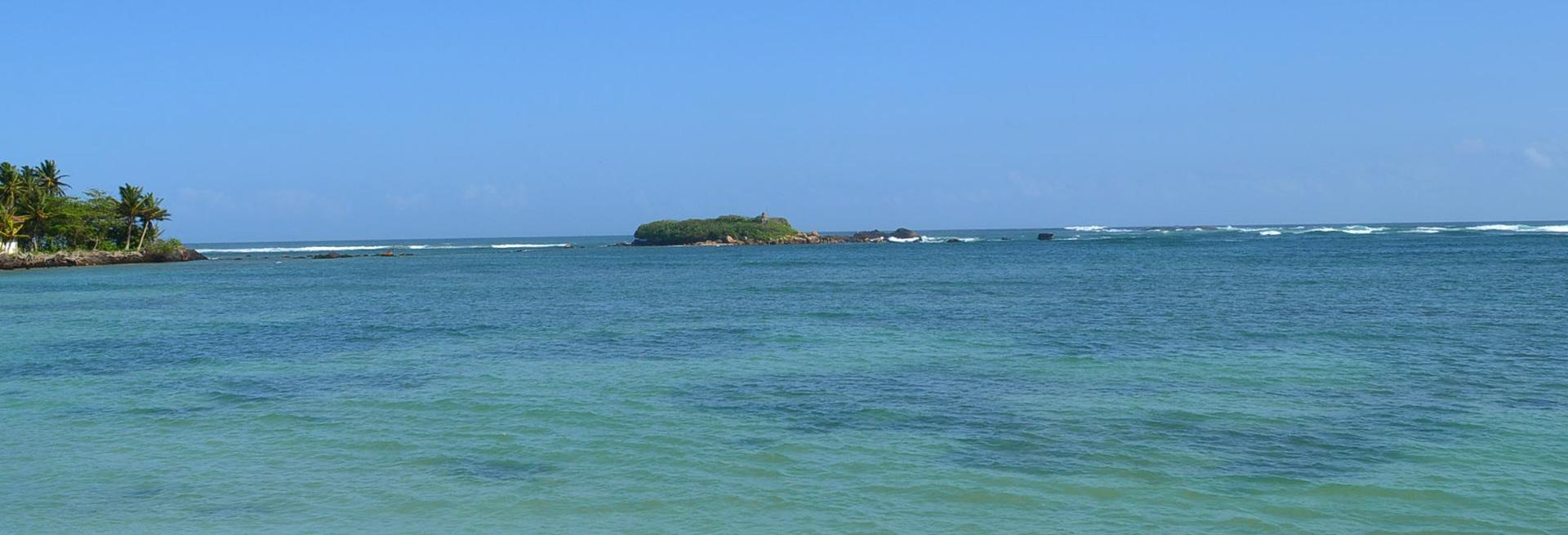 clear blue ocean