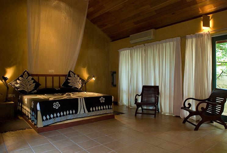 King Pavilion Luxury Double Bedroom