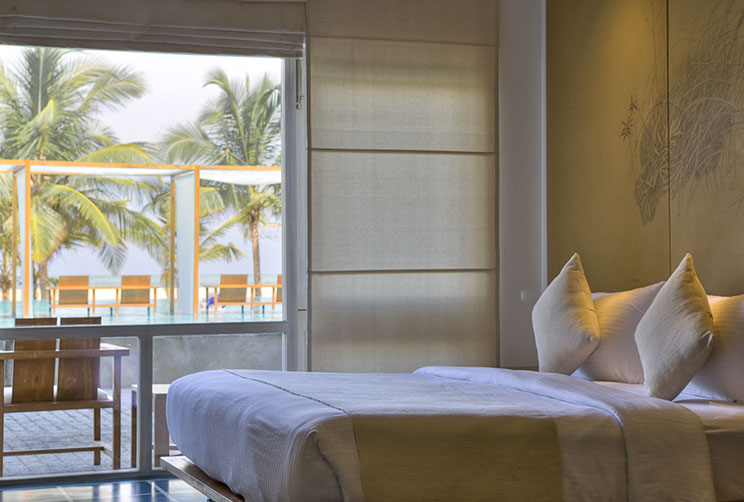 deluxe room with pool view