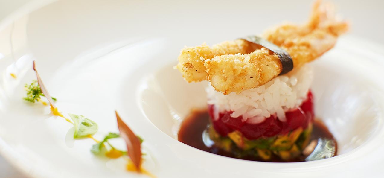 modern food dish