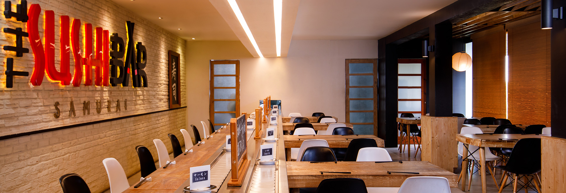 Inside Sushi Bar