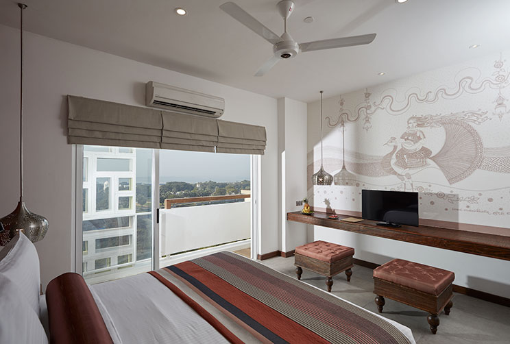 Jetwing Jaffna Hotel Luxury Room