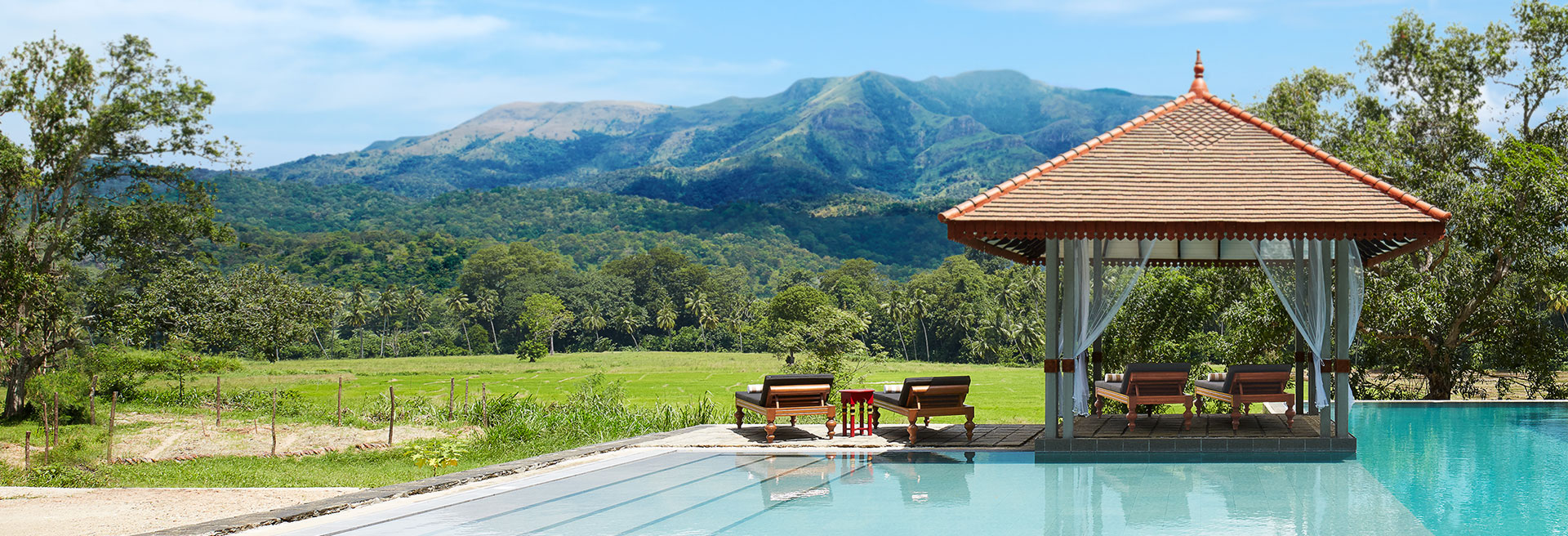 Pool With Scenic Mountain View