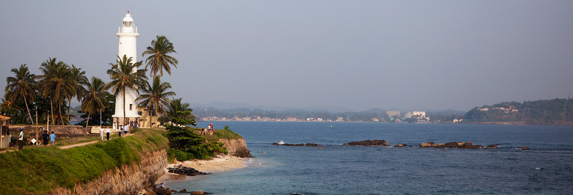 view of the galle lighthouse