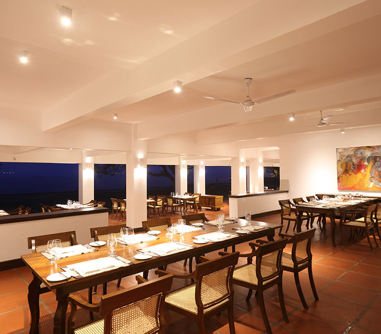 Restaurants In Negombo Dining At Jetwing Lagoon Hotel