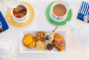 Evening tea and snacks