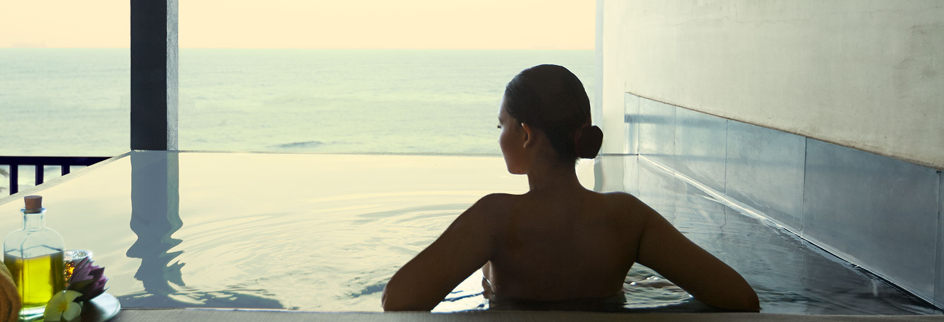 Ocean view from the Jacuzzi