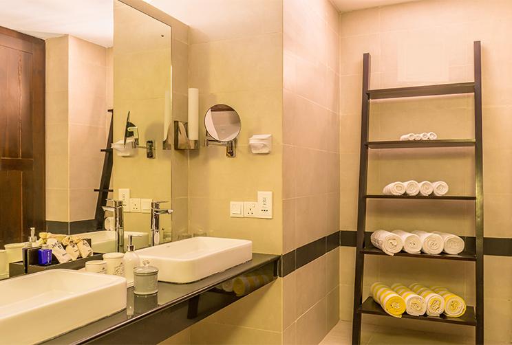 Luxury Washroom and Amenities