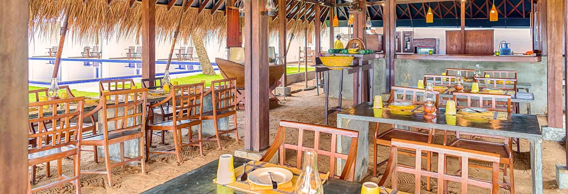 Interior of the Lellama Restaurant