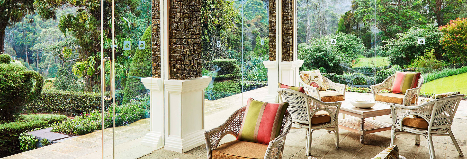 The Tea Terrace at Jetwing St. Andrew's
