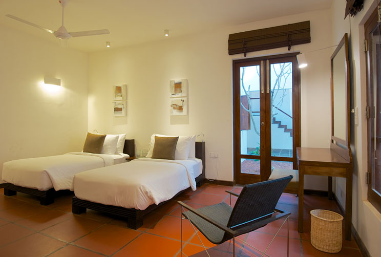 Luxury accommodation at the villa