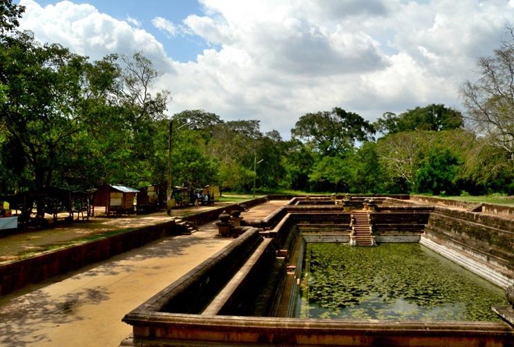 Historical site in Anuradhapura