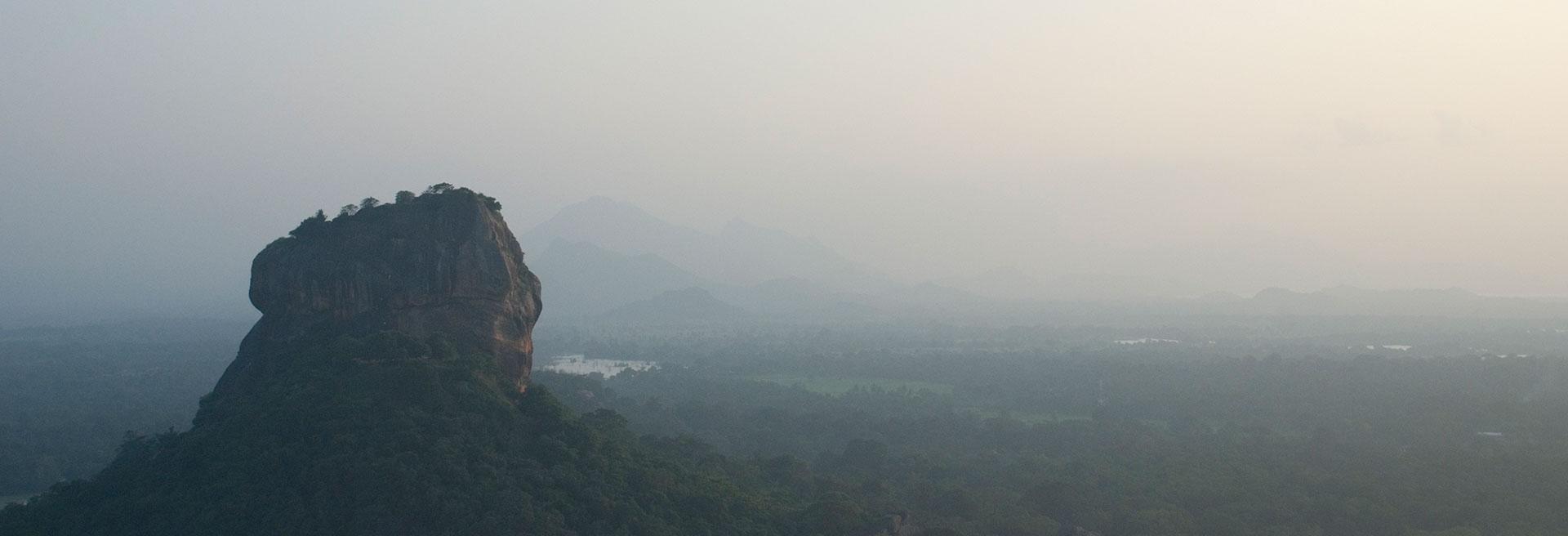 Areal view of the Sigiriya Resort