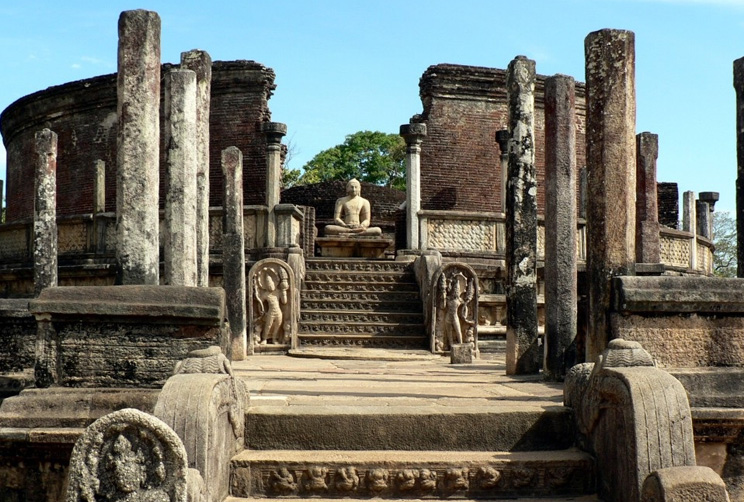 archaeological ruins of Polonnaruwa