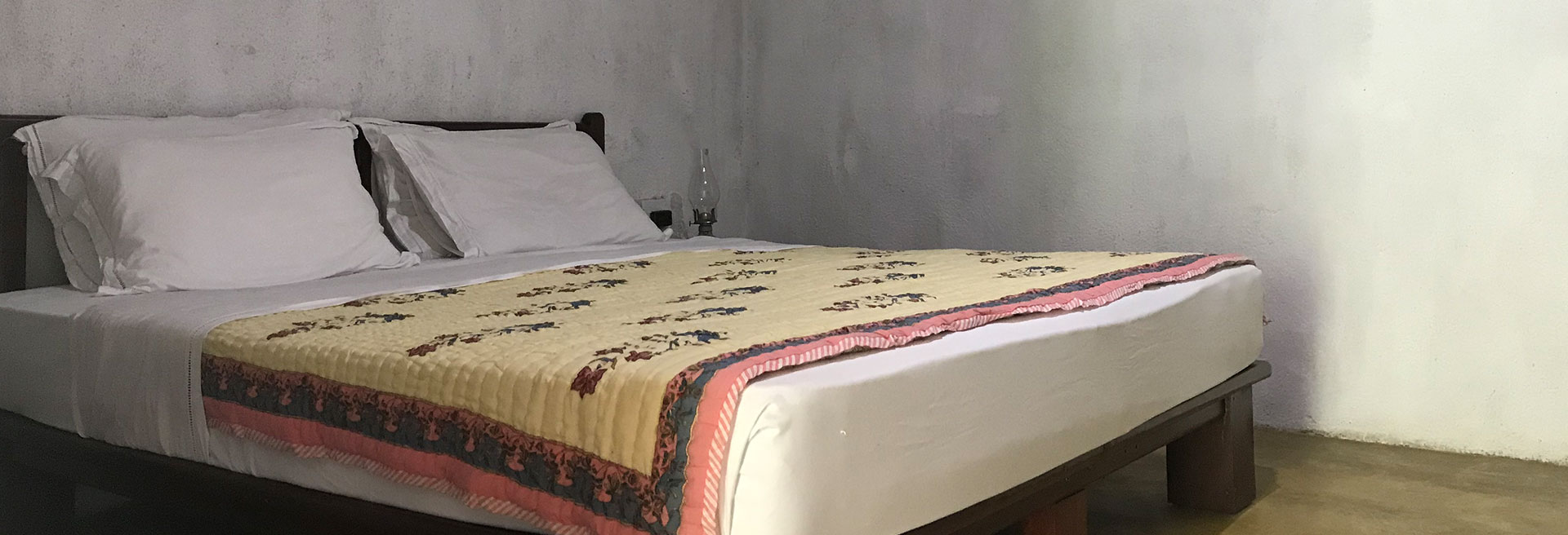 Interior view of the bedroom