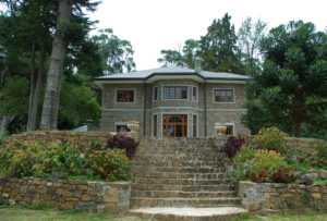 Exterior view of bungalow