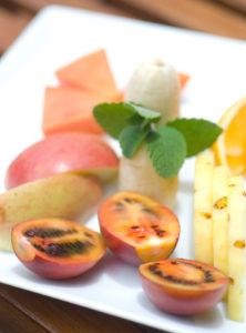 Fresh fruits at Warwick gardens