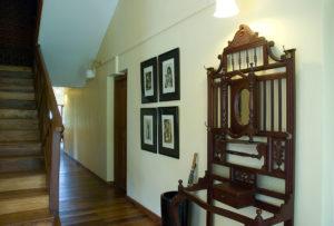 Corridor in bungalow