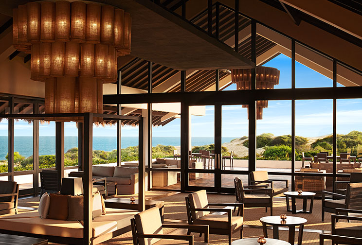 Front view of the Bar at Jetwing Yala
