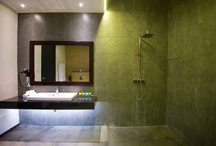 Bathroom of the superior room