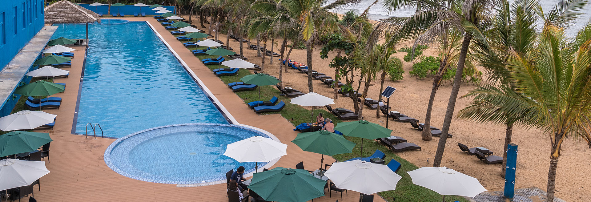 Image of the pool deck