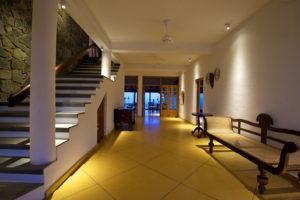 Corridor in the hotel