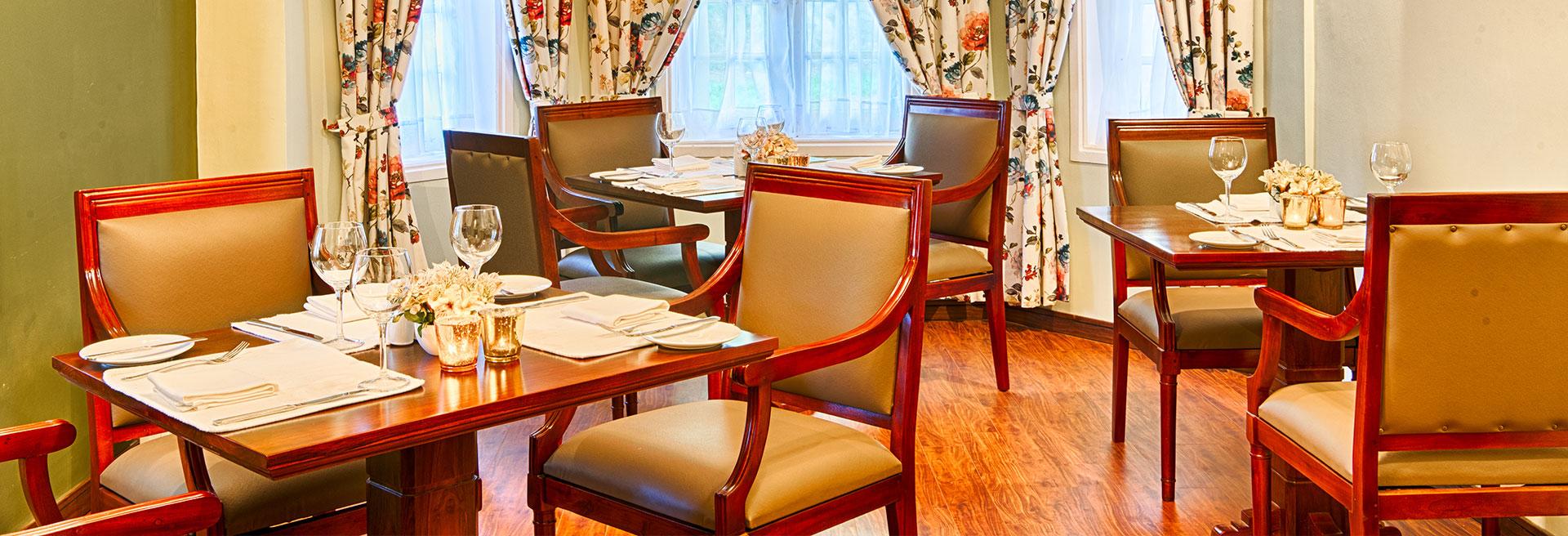 luxury indoor dining