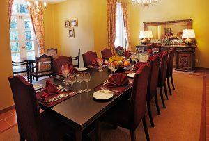 Vintage dining area