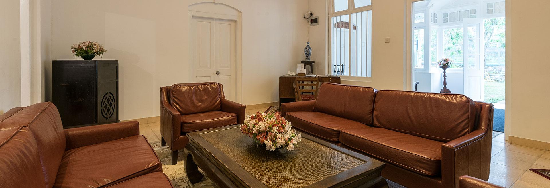 Modern indoor living room