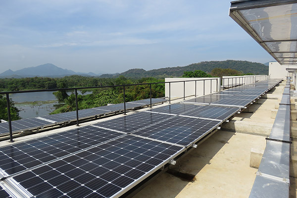 Rooftop Solar PV at Jetwing Lake