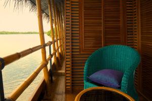 Lake view seating
